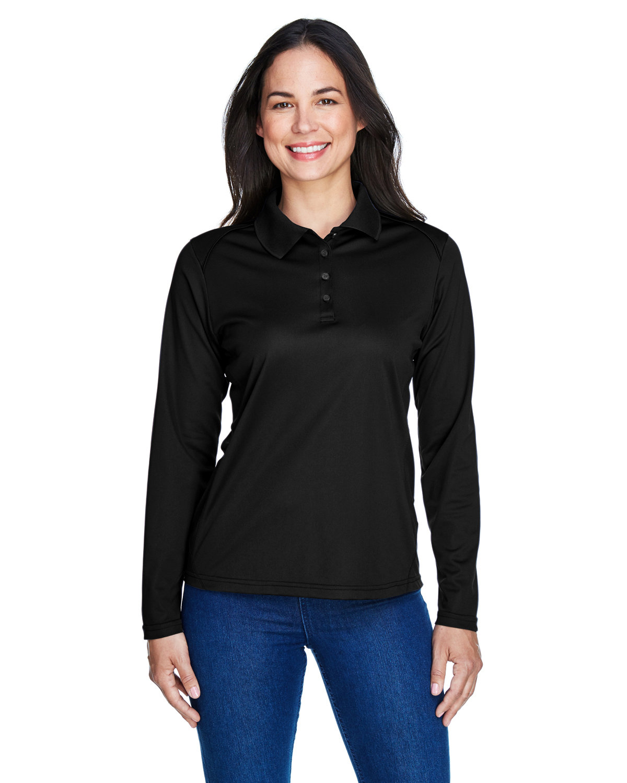 Extreme Ladies' Eperformance™ Snag Protection Long-Sleeve Polo BLACK