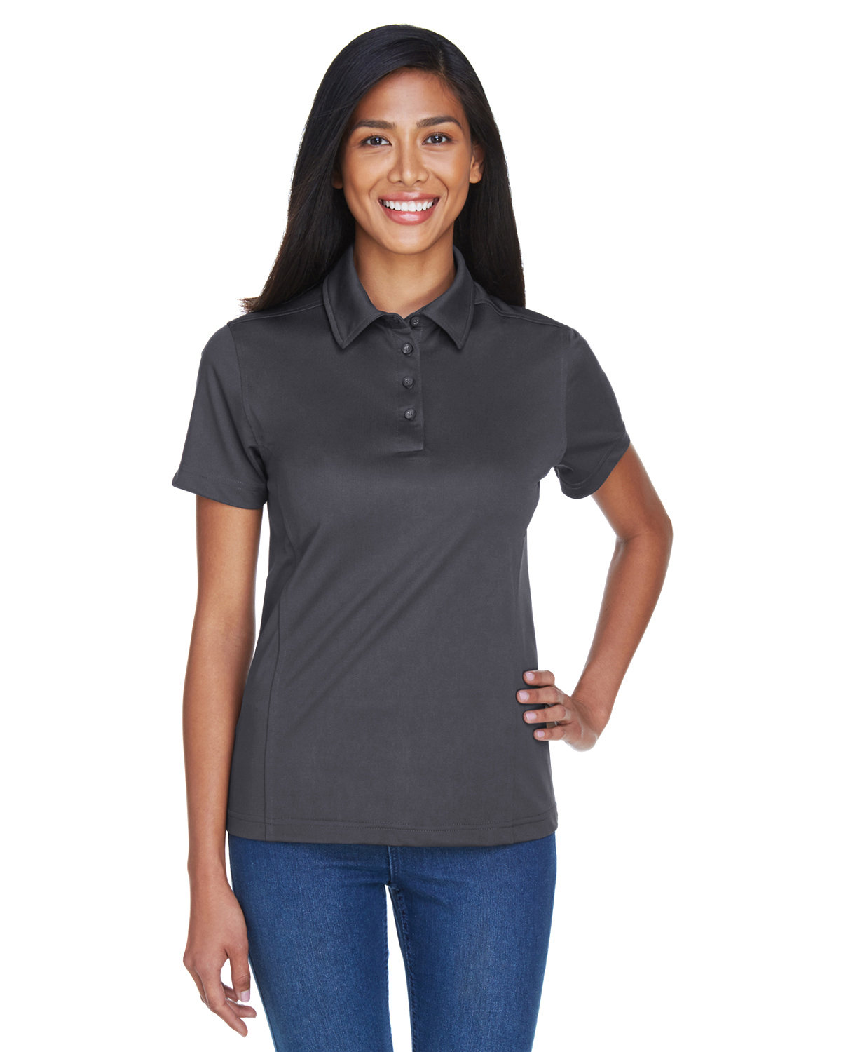 Extreme Ladies' Eperformance™ Shift Snag Protection Plus Polo CARBON
