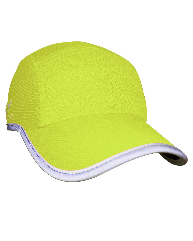 Headsweats Unisex Reflective Knit Race Hat HI VIZ YELLOW