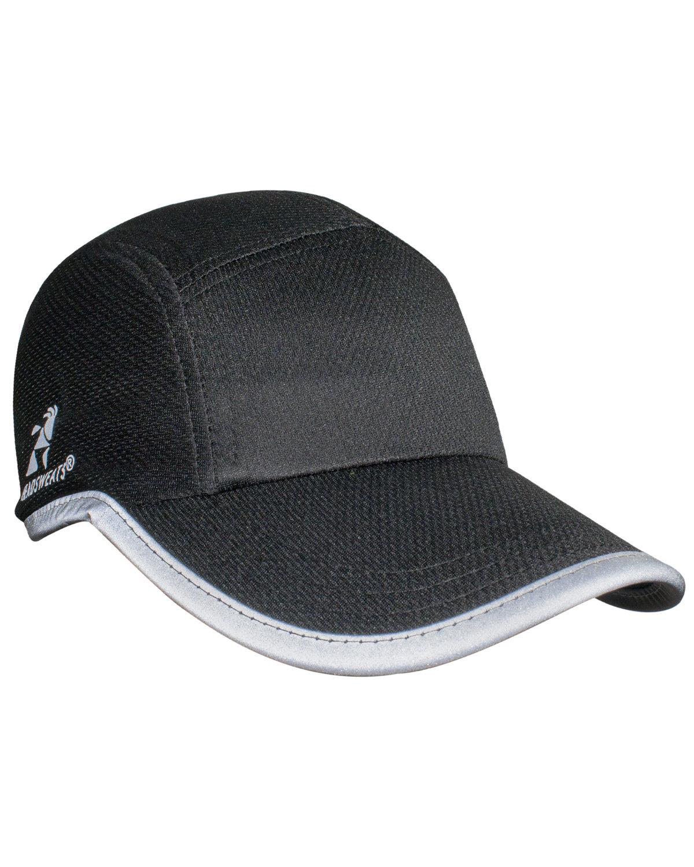 Headsweats Unisex Reflective Knit Race Hat BLACK REFLECTIVE