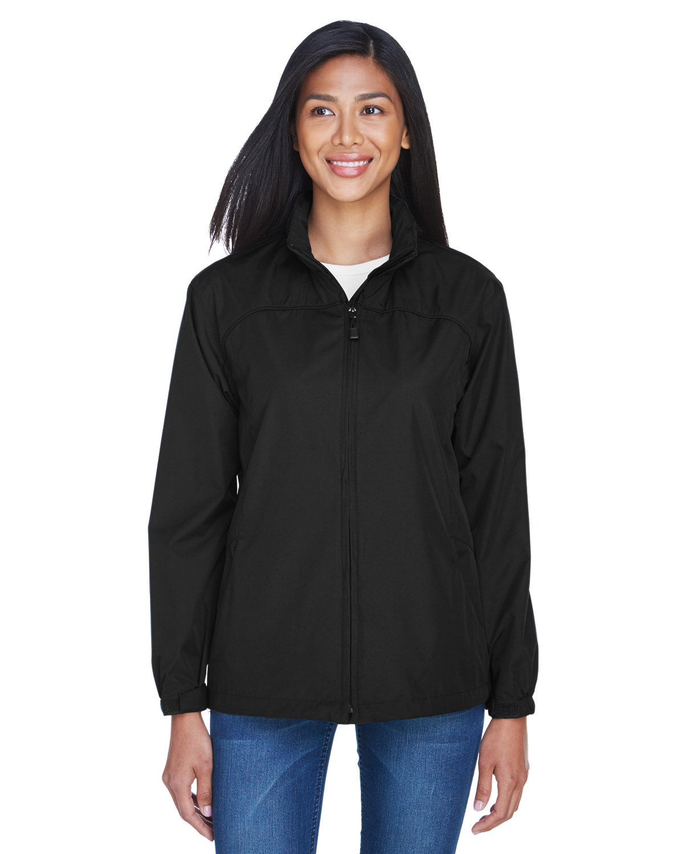 North End Ladies' Techno Lite Jacket BLACK