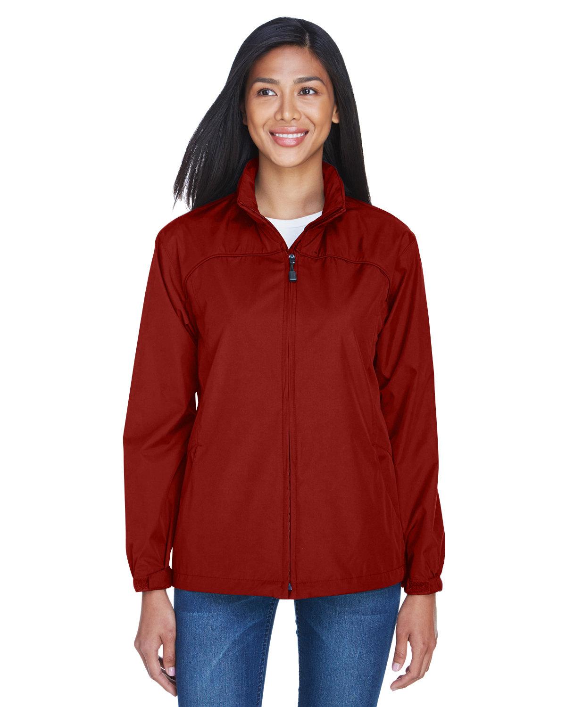 North End Ladies' Techno Lite Jacket MOLTEN RED