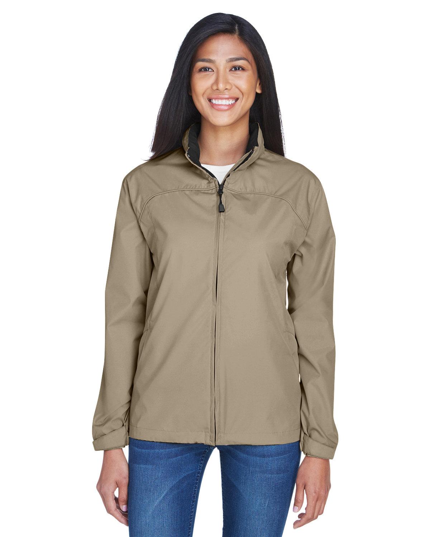 North End Ladies' Techno Lite Jacket PUTTY/ BLACK