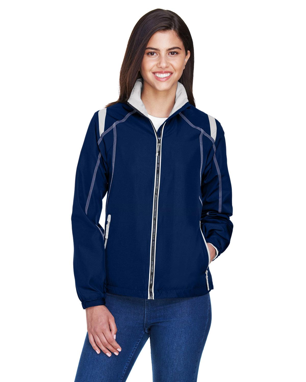 North End Ladies' Endurance Lightweight Colorblock Jacket NIGHT