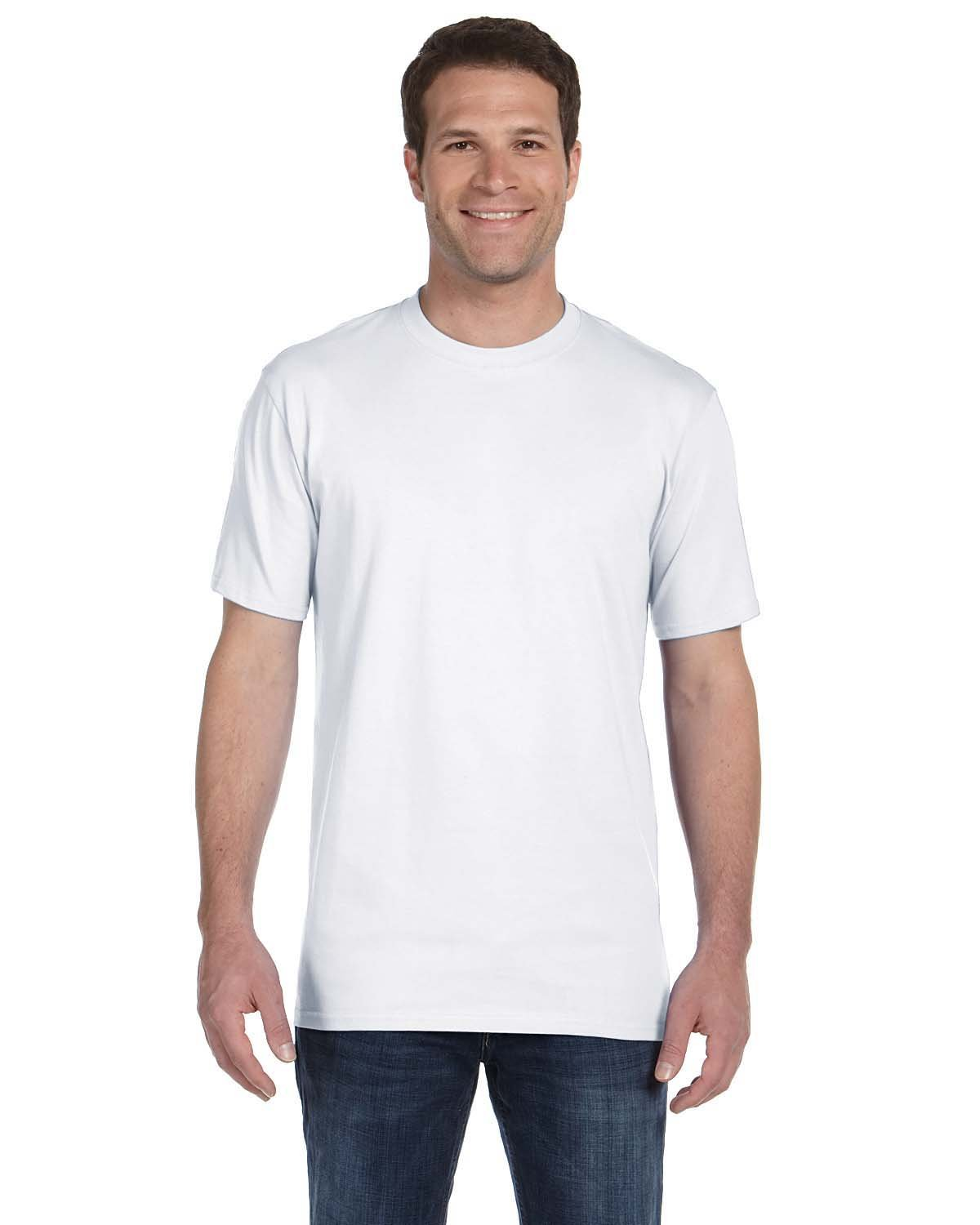 Anvil Adult Midweight T-Shirt WHITE