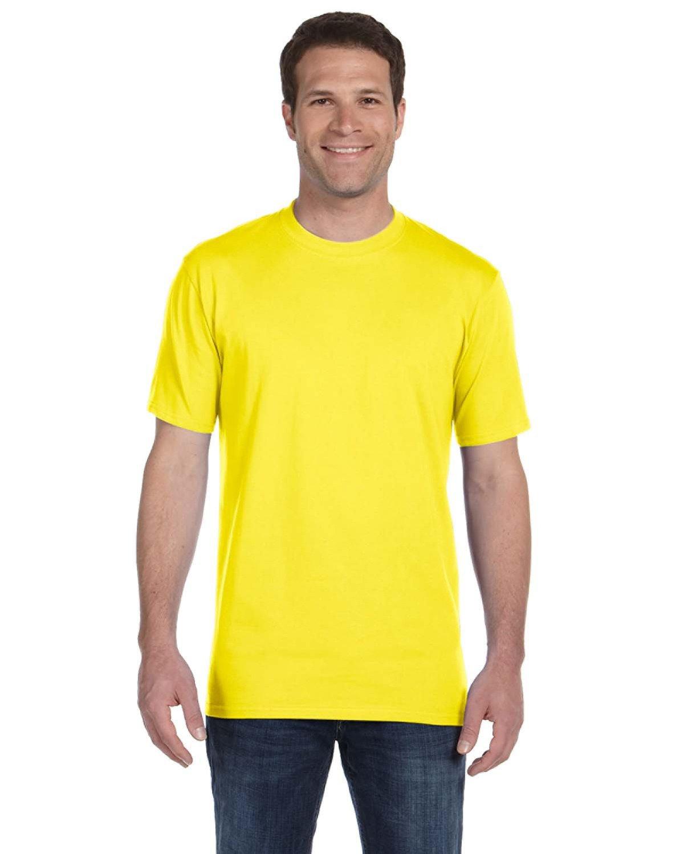 Anvil Adult Midweight T-Shirt LEMON ZEST