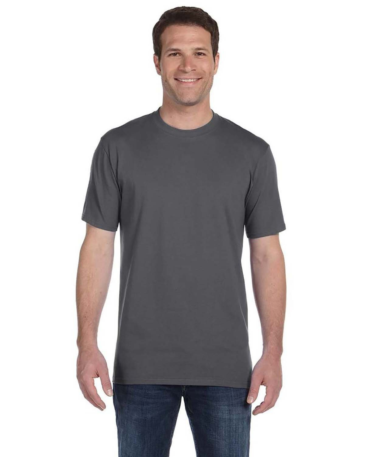 Anvil Adult Midweight T-Shirt CHARCOAL