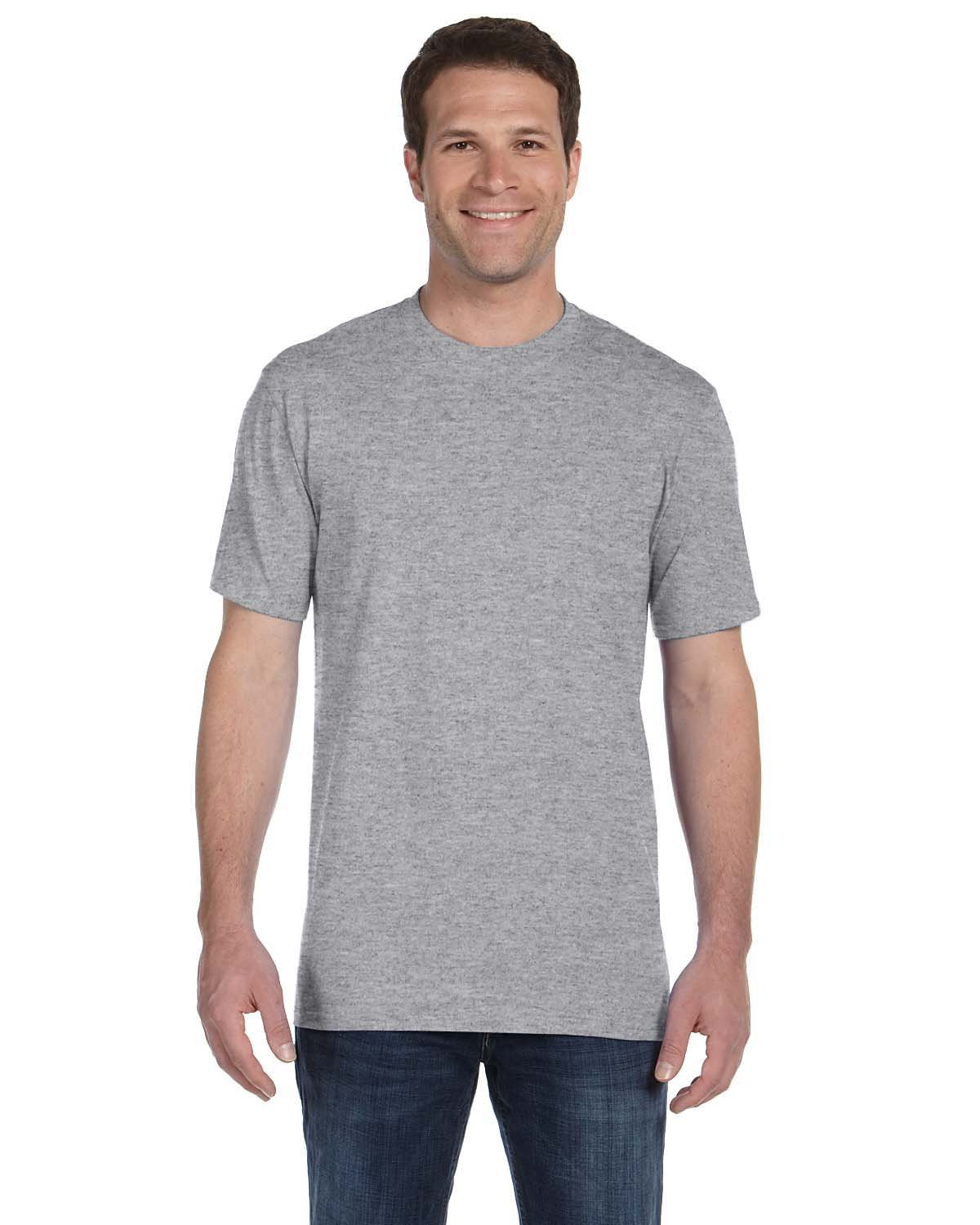 Anvil Adult Midweight T-Shirt HEATHER GREY