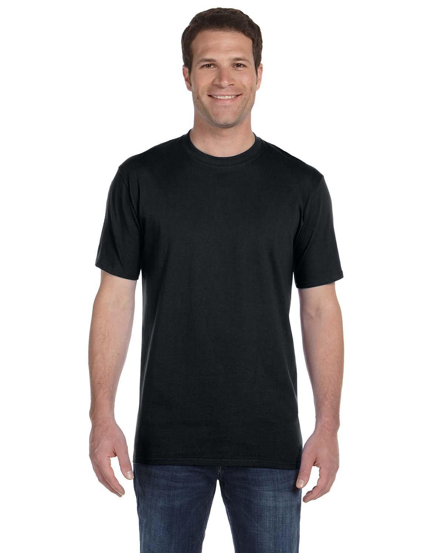 Anvil Adult Midweight T-Shirt BLACK