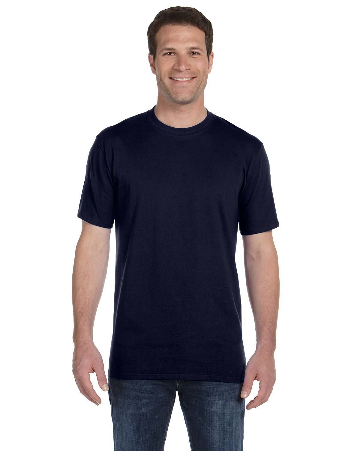 Anvil Adult Midweight T-Shirt NAVY