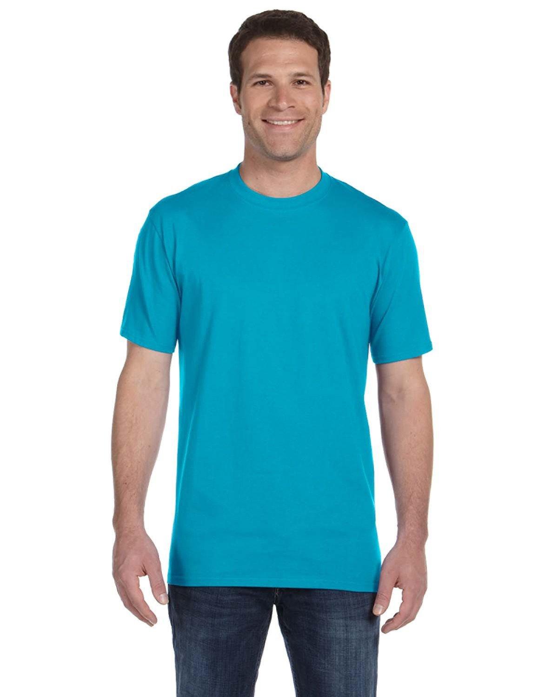 Anvil Adult Midweight T-Shirt CARIBBEAN BLUE