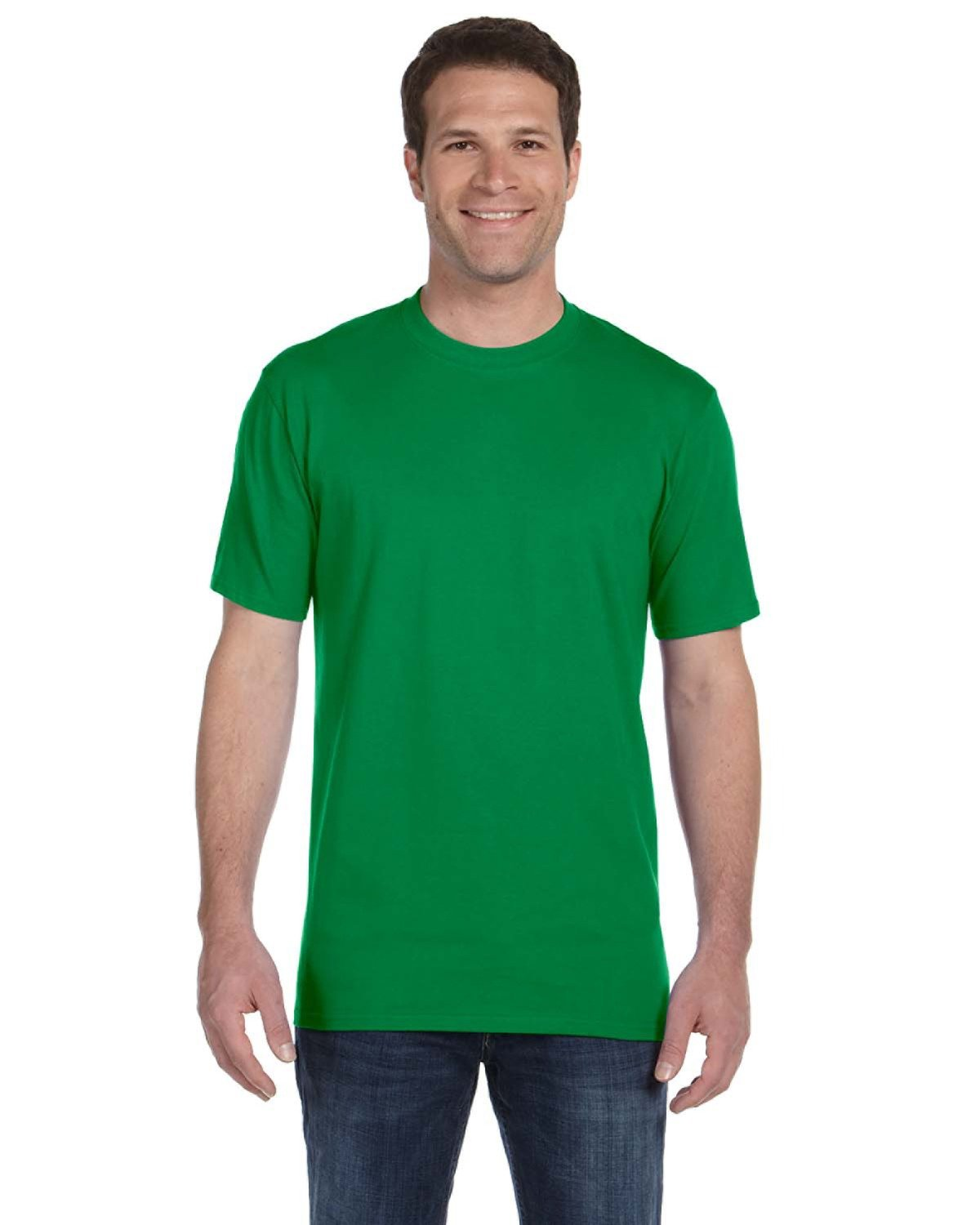 Anvil Adult Midweight T-Shirt KELLY GREEN