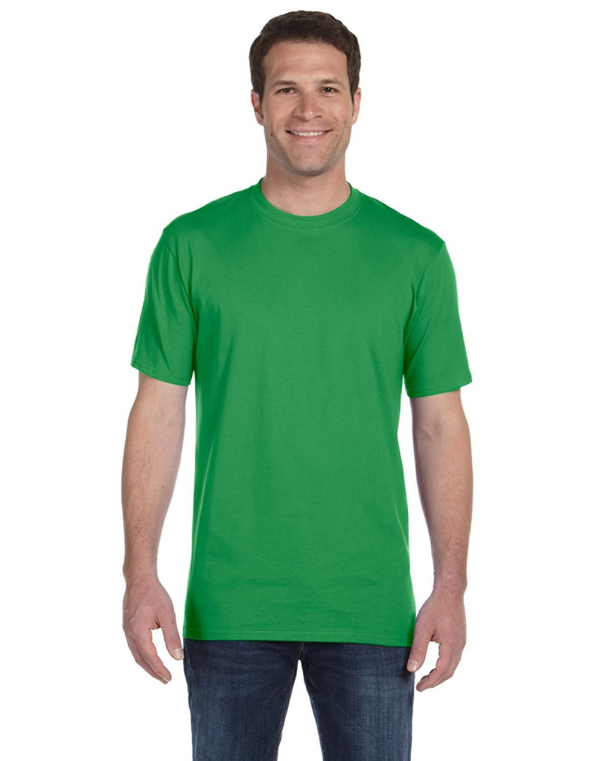 Anvil Adult Midweight T-Shirt GREEN APPLE
