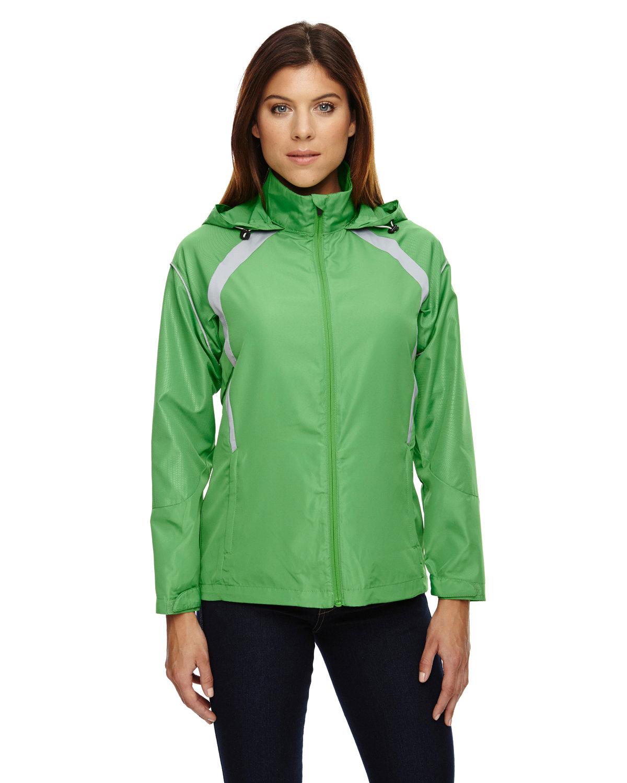 North End Ladies' Sirius Lightweight Jacket with Embossed Print VALLEY GREEN