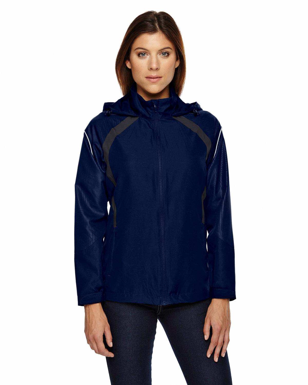 North End Ladies' Sirius Lightweight Jacket with Embossed Print NIGHT