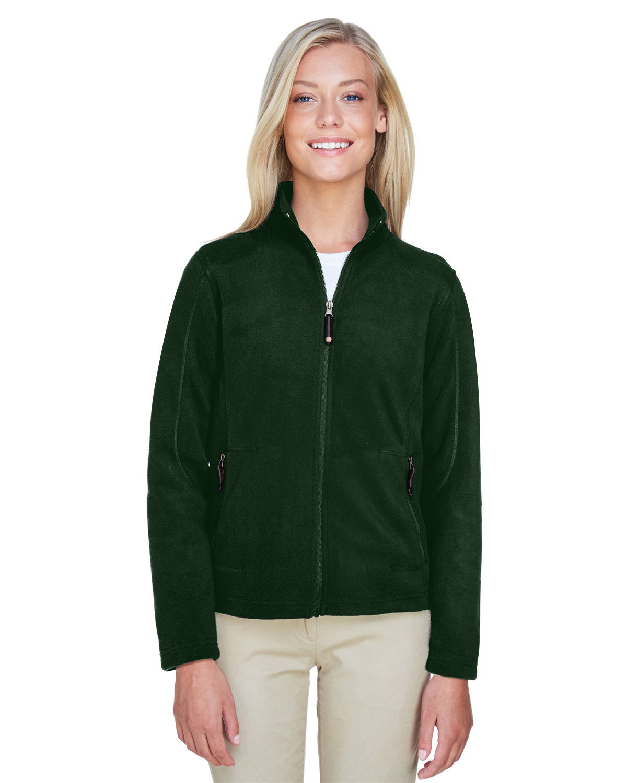 North End Ladies' Voyage Fleece Jacket FOREST