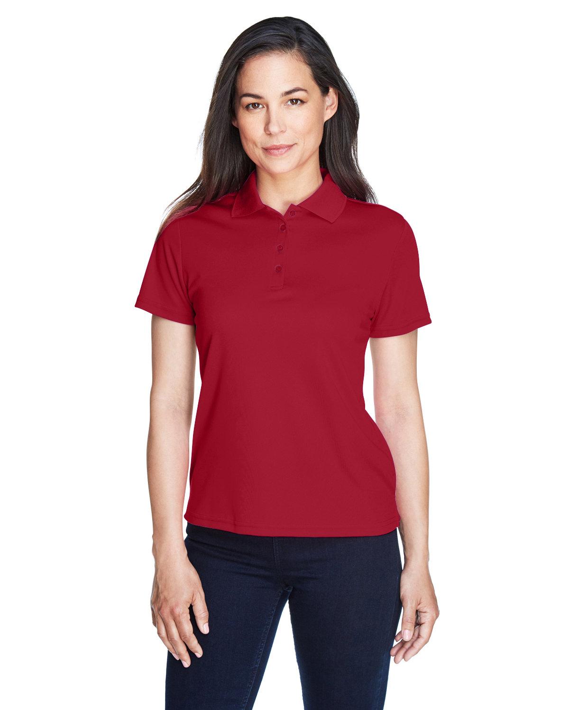 Core 365 Ladies' Origin Performance Piqué Polo CLASSIC RED