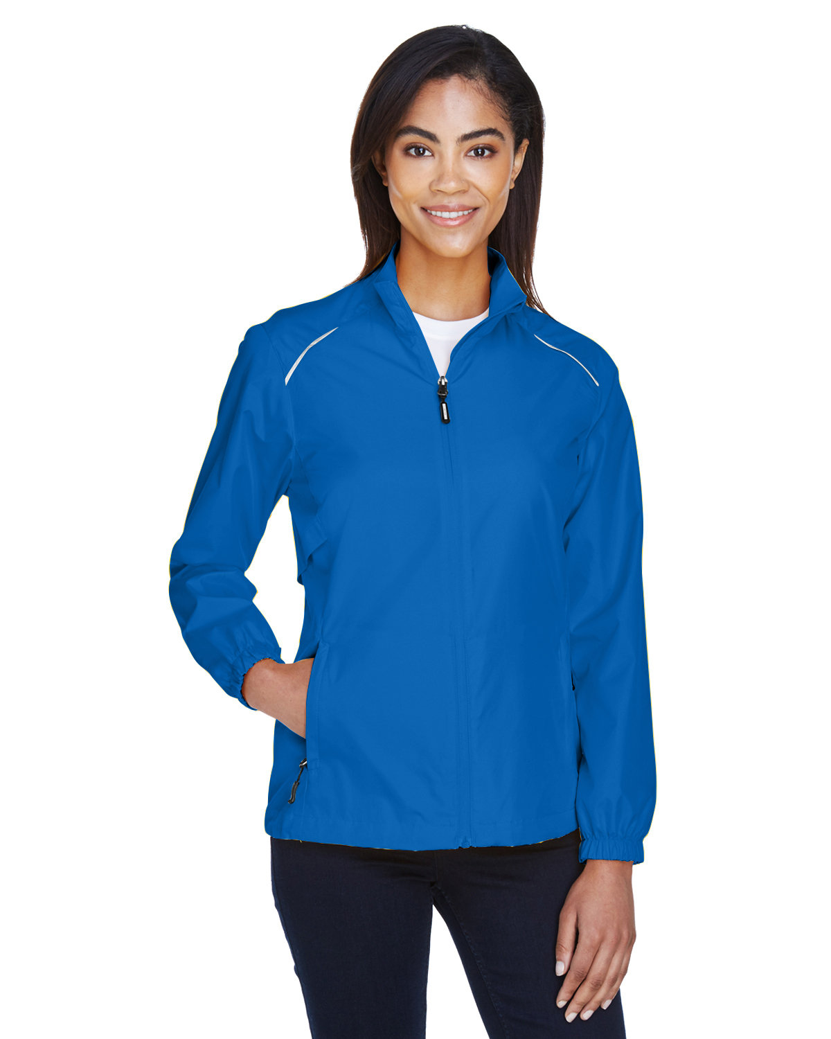 Core 365 Ladies' Motivate Unlined Lightweight Jacket TRUE ROYAL
