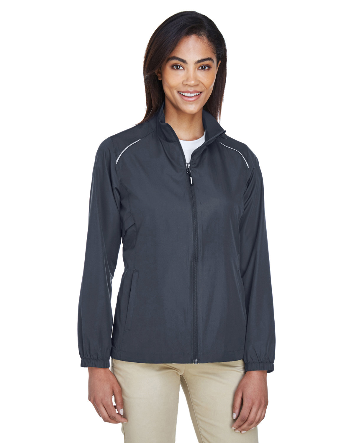 Core 365 Ladies' Motivate Unlined Lightweight Jacket CARBON