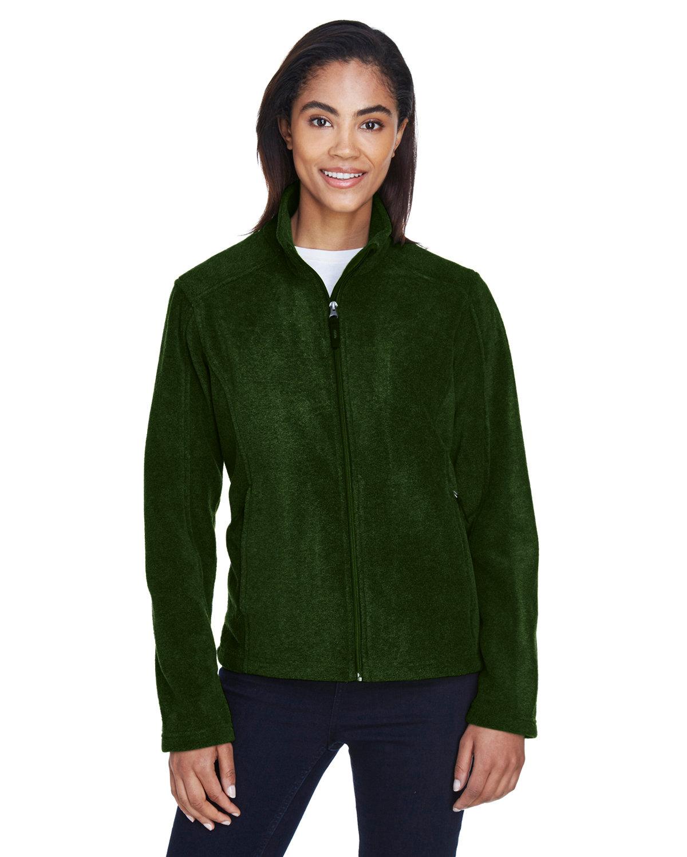 Core 365 Ladies' Journey Fleece Jacket FOREST