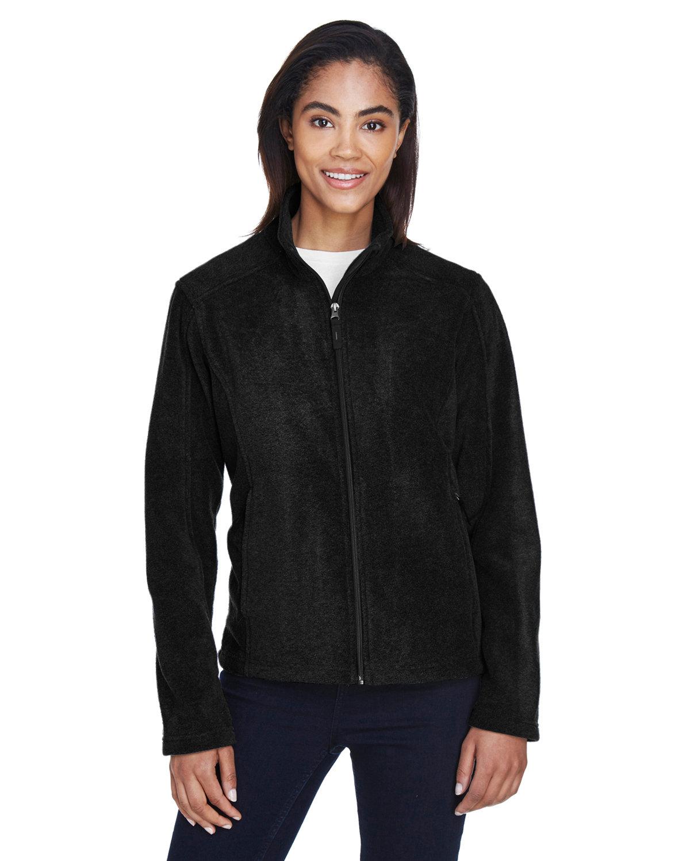 Core 365 Ladies' Journey Fleece Jacket BLACK