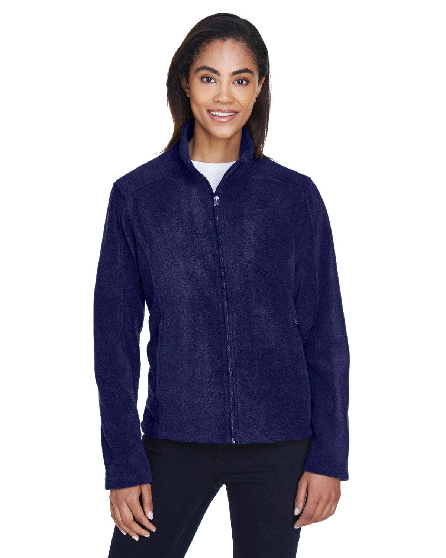 Core 365 Ladies' Journey Fleece Jacket CLASSIC NAVY