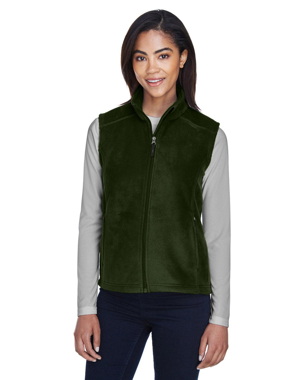 Core 365 Ladies' Journey Fleece Vest FOREST