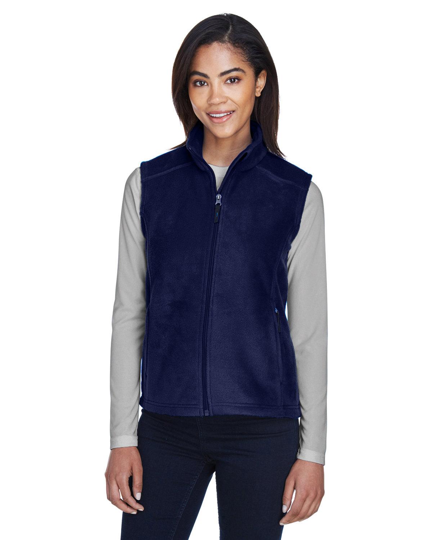 Core 365 Ladies' Journey Fleece Vest CLASSIC NAVY