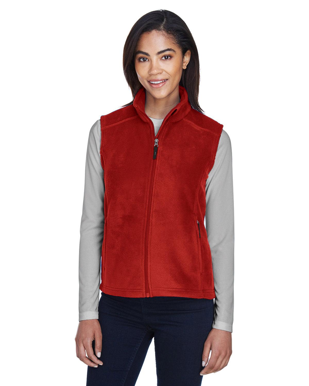 Core 365 Ladies' Journey Fleece Vest CLASSIC RED