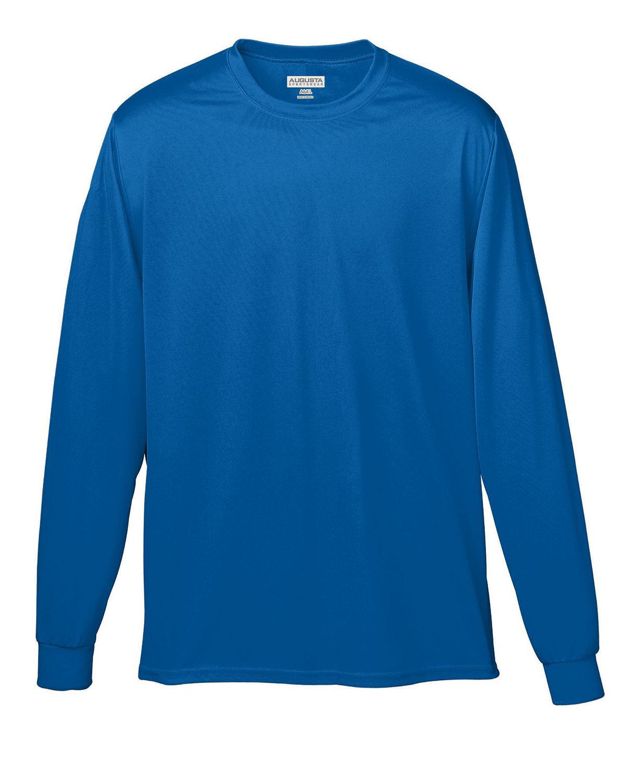 Augusta Sportswear Adult Wicking Long-Sleeve T-Shirt ROYAL