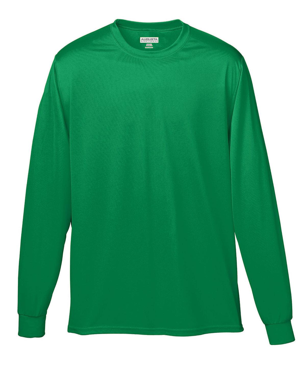 Augusta Sportswear Adult Wicking Long-Sleeve T-Shirt KELLY