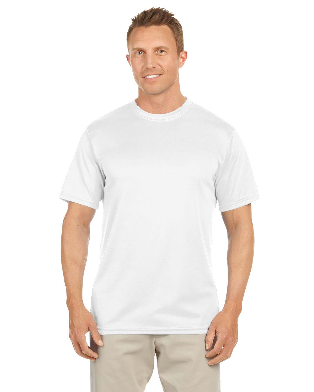 Augusta Sportswear Adult NexGen Wicking T-Shirt WHITE