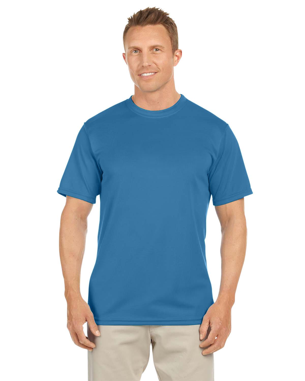 Augusta Sportswear Adult NexGen Wicking T-Shirt COLUMBIA BLUE