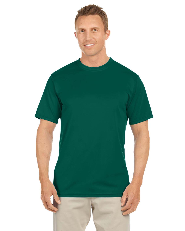 Augusta Sportswear Adult NexGen Wicking T-Shirt DARK GREEN
