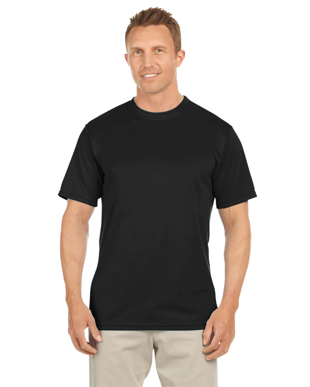 Augusta Sportswear Adult NexGen Wicking T-Shirt BLACK