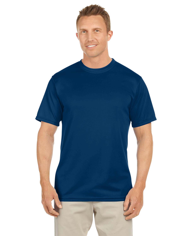 Augusta Sportswear Adult NexGen Wicking T-Shirt NAVY