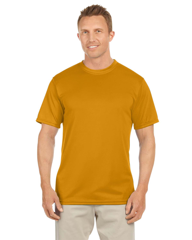 Augusta Sportswear Adult NexGen Wicking T-Shirt GOLD
