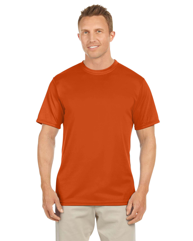 Augusta Sportswear Adult NexGen Wicking T-Shirt ORANGE