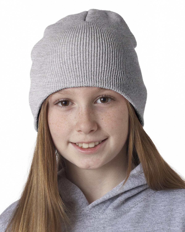 UltraClub Knit Beanie ASH