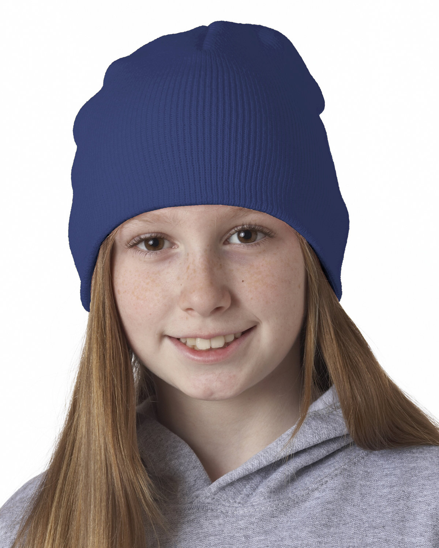 UltraClub Knit Beanie ROYAL
