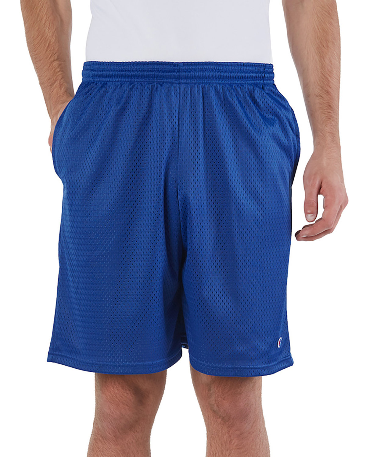 Champion Adult Mesh Short with Pockets ATHLETIC ROYAL
