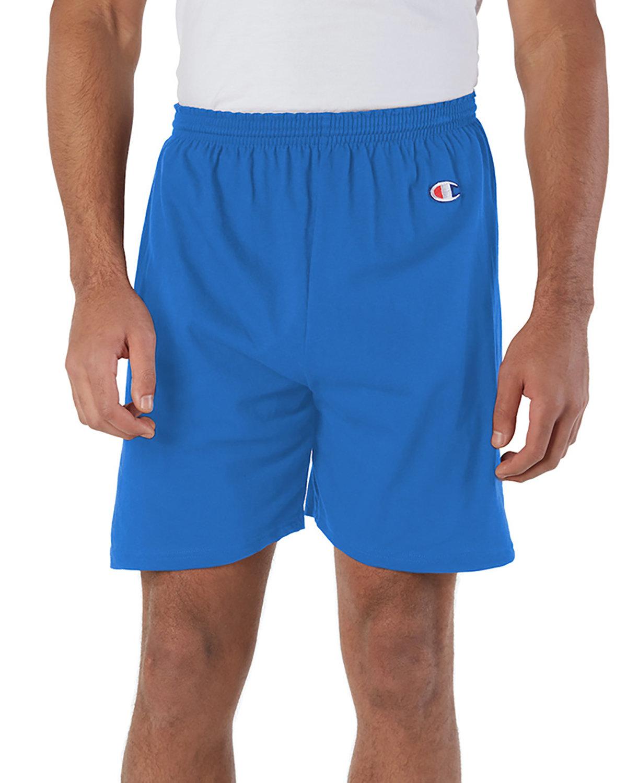 Champion Adult Cotton Gym Short ROYAL BLUE