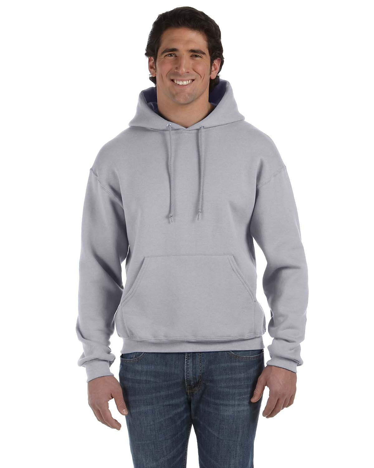 Fruit of the Loom Adult Supercotton™ Pullover Hooded Sweatshirt ATHLETIC HEATHER