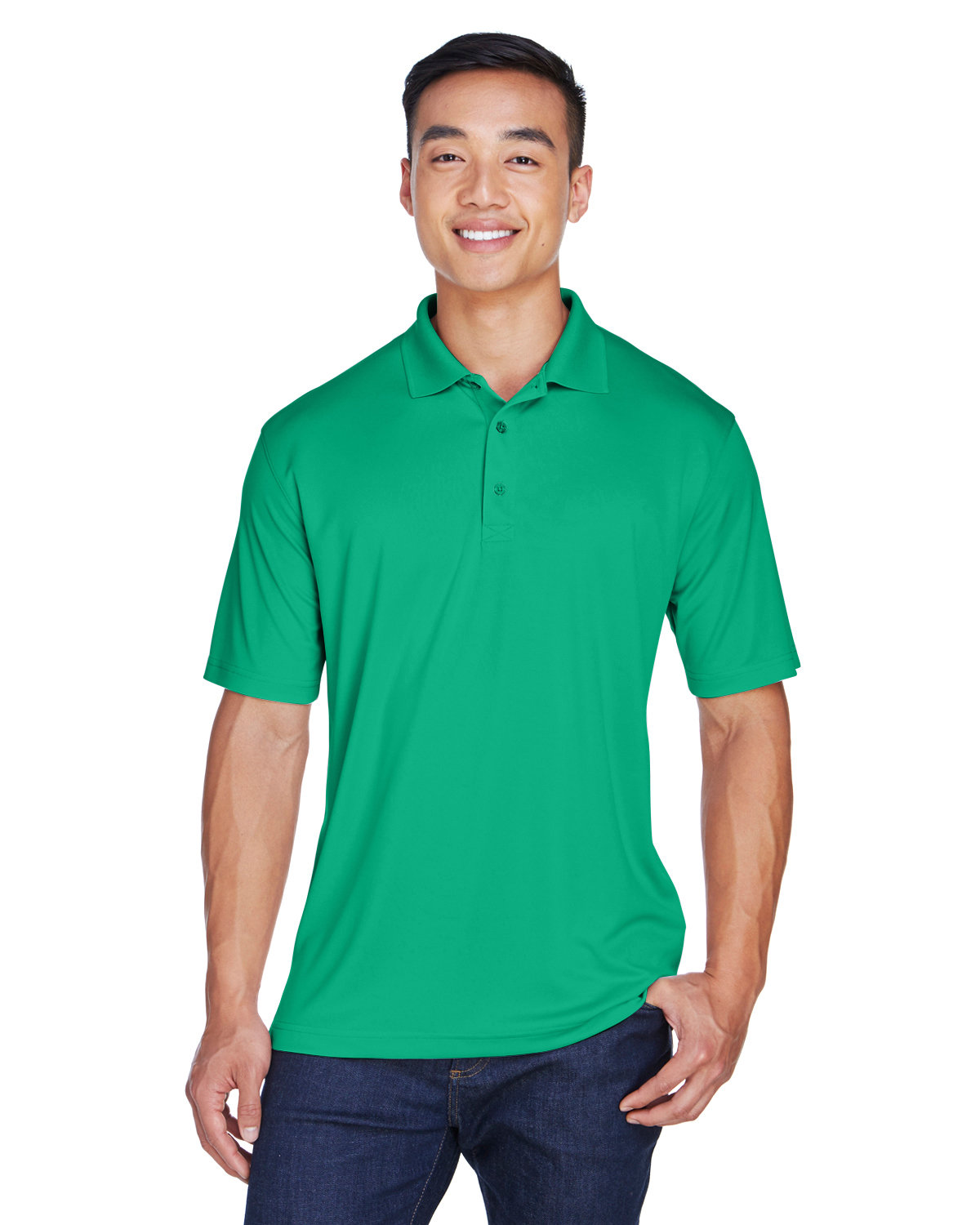 UltraClub Men's Cool & Dry Sport Polo KELLY