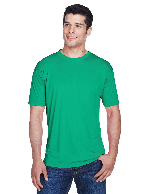 UltraClub Men's Cool & Dry Sport Performance InterlockT-Shirt KELLY