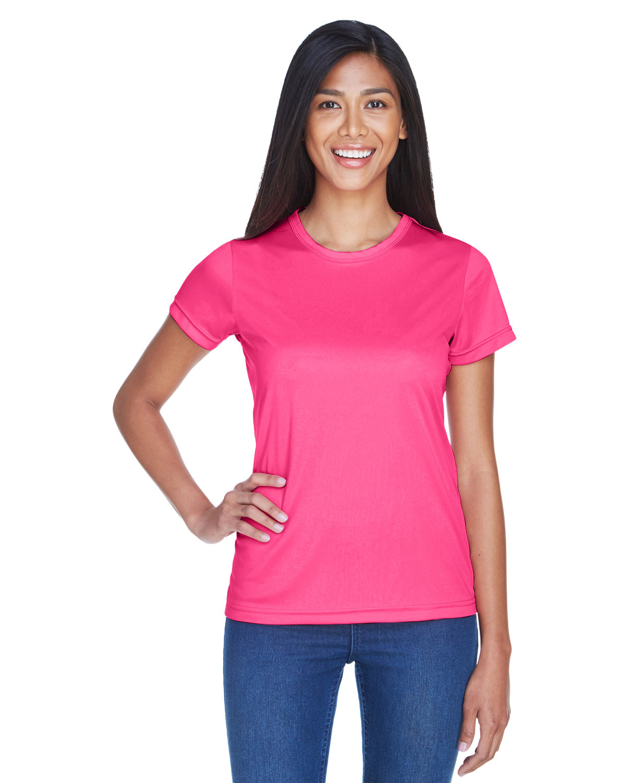 UltraClub Ladies' Cool & Dry Sport Performance InterlockT-Shirt HELICONIA
