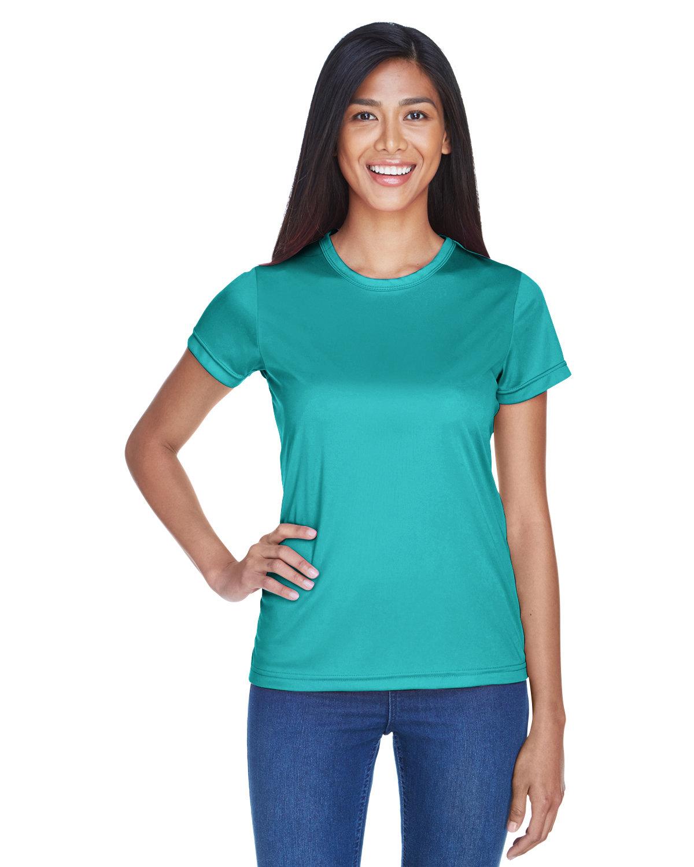 UltraClub Ladies' Cool & Dry Sport Performance InterlockT-Shirt JADE