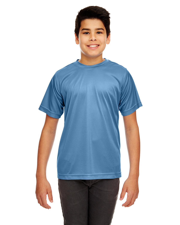 UltraClub Youth Cool & Dry Sport Performance InterlockT-Shirt INDIGO
