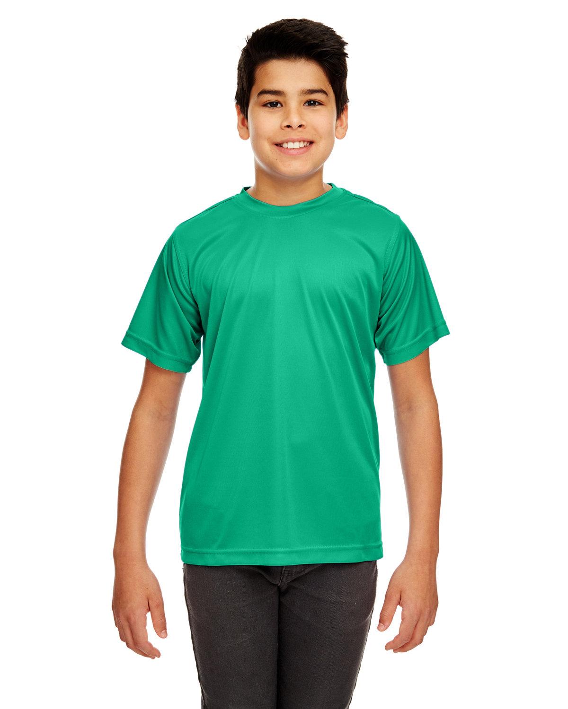 UltraClub Youth Cool & Dry Sport Performance InterlockT-Shirt KELLY