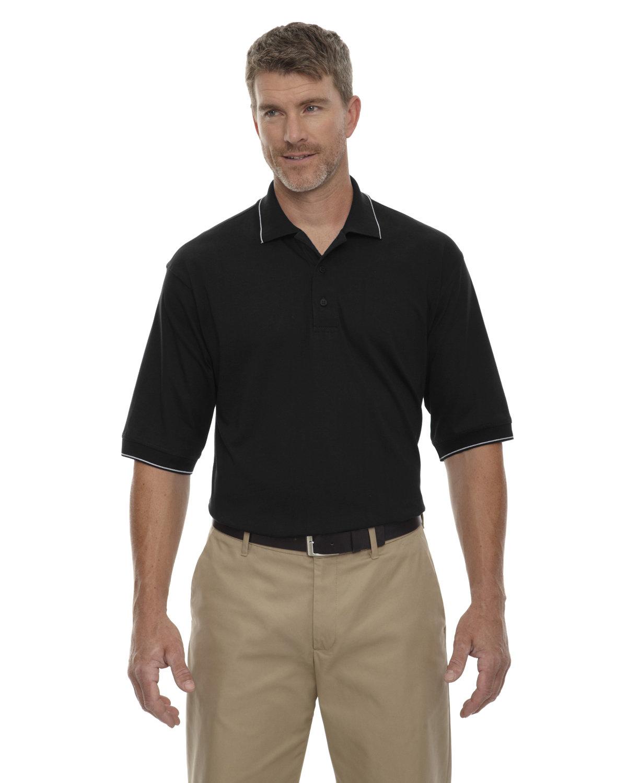 Extreme Men's Cotton Jersey Polo BLACK
